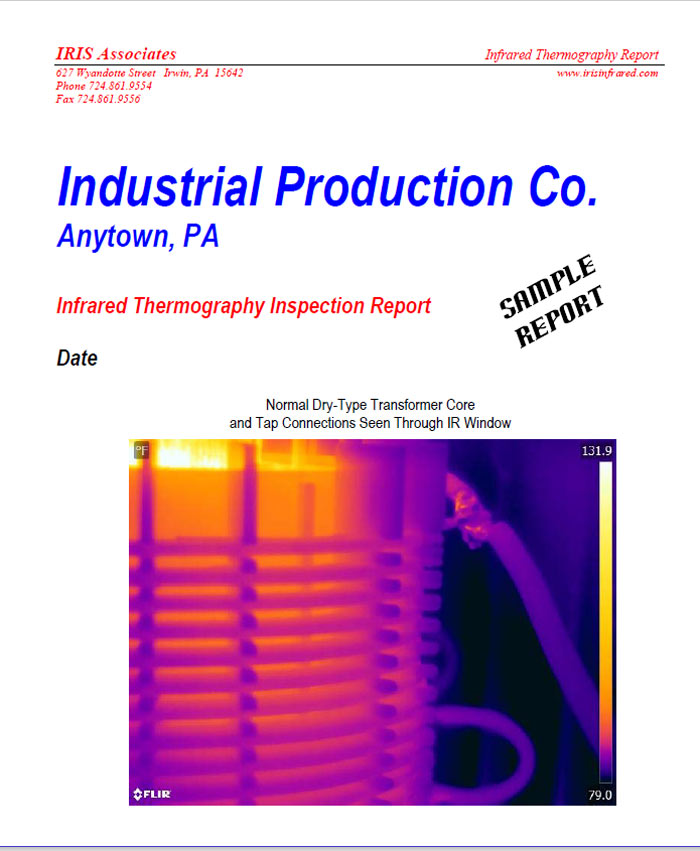 Infrared Thermography Inspection Report